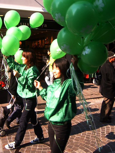 Saint Patricks day parade