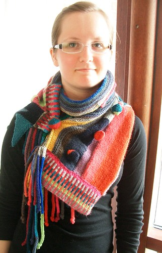 Scarf Knitting Styles : Ravelry color on pattern by kathryn alexander