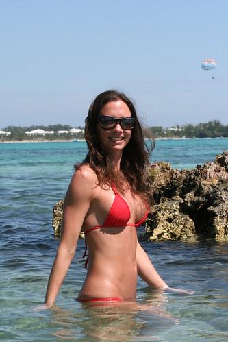 sexy girl bikini model