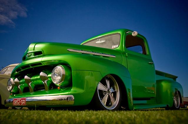 blue green ford up car canon australia f1 hotrod rod pick nationals f28 billet method 1952 2008islandstatehotrodnationals