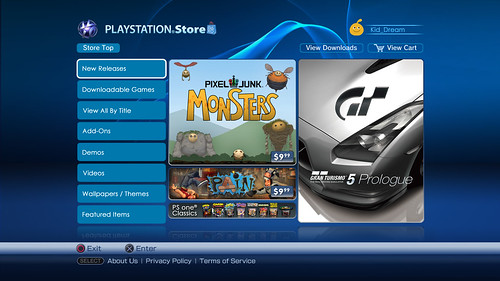The New PlayStation Store