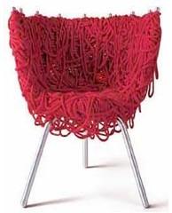 Фото 1 - Уютный стул-клубок для дома