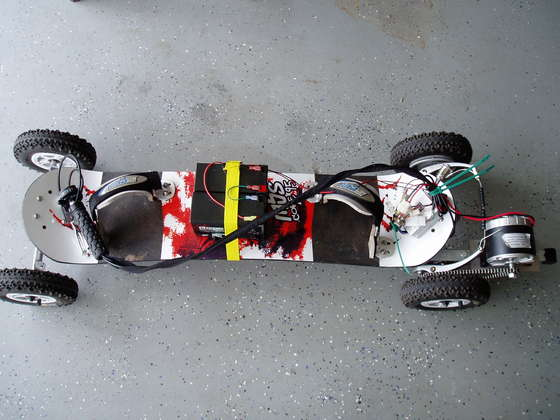 Build an Electric Segway Skateboard