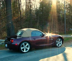 Beams on the bimmer (Nancy Rose) Tags: car bmw z4 beamer beemer lightrays bimmer anawesomeshot theunforgettablepictures
