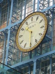 Replicated (gilltheaker) Tags: london clock station closeup dent railwaystation stpancras photofaceoffwinner pfogold