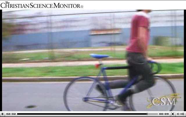 No Brakes Featured In CSMonitor