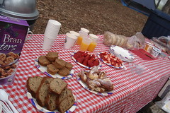 breakfast spread (maureenld) Tags: camping friends food breakfast bash may db buffet annual 2008 bethereorbesquare 36th morrobaystatepark desertbash