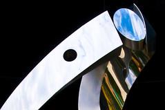 "Model LSI-404 ""Sky-Catcher"" (nosha) Tags: sky sculpture art beauty newjersey steel hamilton nj mercercounty groundsforsculpture hamiltonnj nosha skycapturingdevice noshalikes"