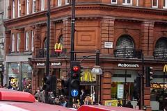 McDonald's na Oxford Street / McDonald's at Oxford Street