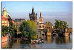 Romantic Praga (lapidim) Tags: bridge nikon prague praha praga czechrepublic karluvmost d300 imagepoetry