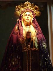 Nuestra Seora de los Dolores (arosadocel) Tags: madonna mary virgin virginmary virgen mara materdei virgenmara sanctamaria artereligioso artesacro artecatlico sanctamara