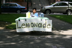 A Young Entrepreneur on a Hot Day at Portland State
