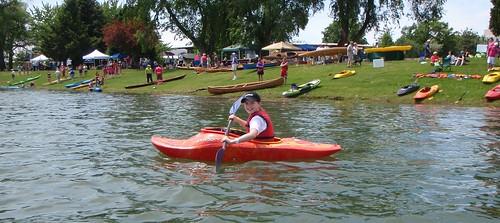 Kirsten at PaddleFest 2008