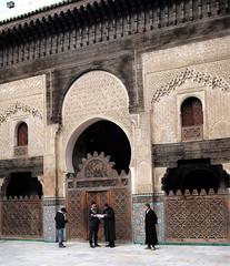L1000614 (H Sinica) Tags: morocco 摩洛哥 fez fes 非斯 medina medersa bouinania