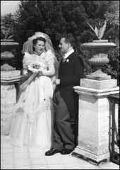 The marriage of my parents. (abschied) Tags: parents marriage rome