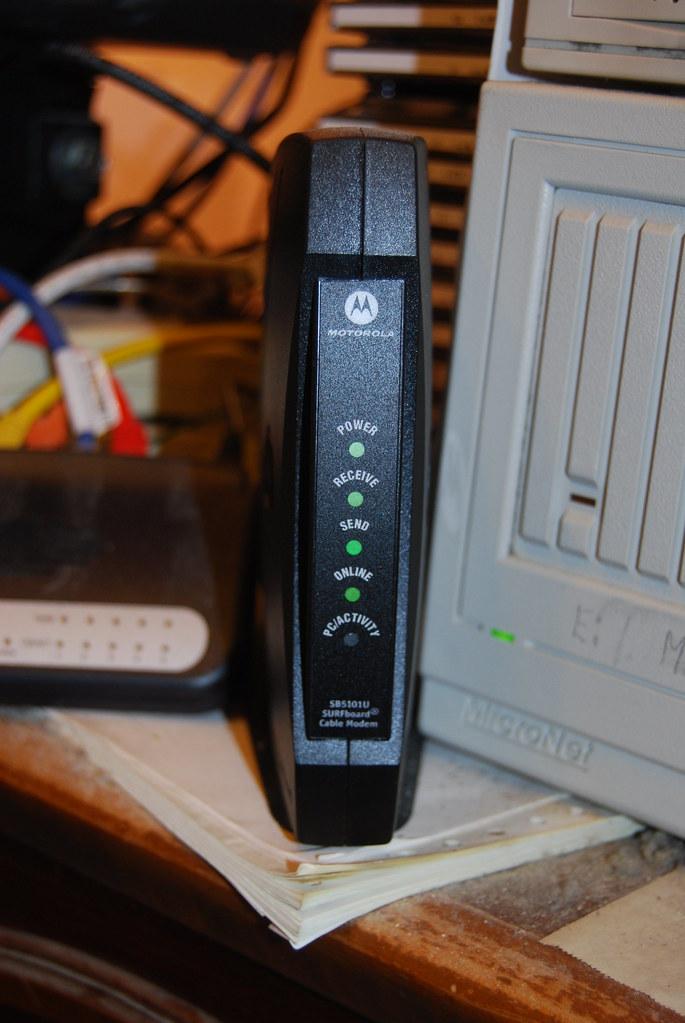 Motorola SB5101U Cable Modem