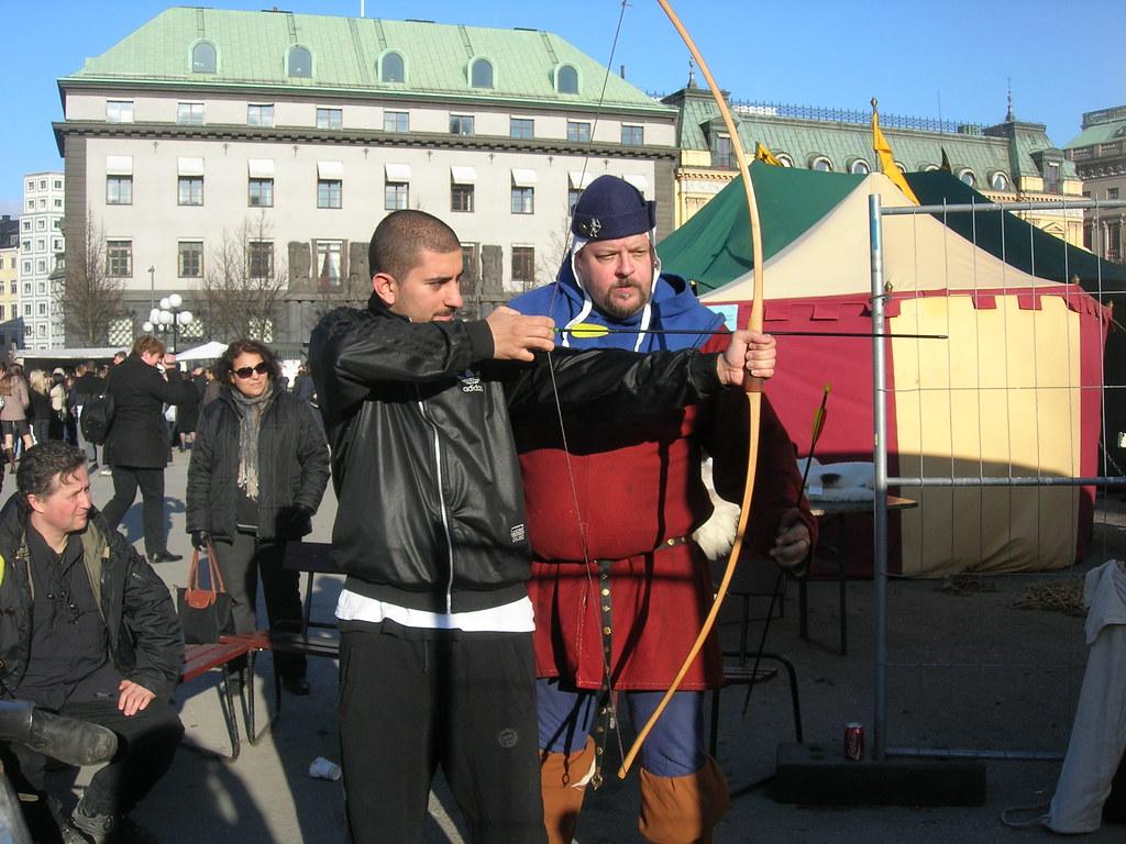 Medieval market in Stockholm, 2010 Apr - 2