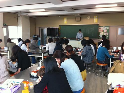 社会学級日本茶講習会