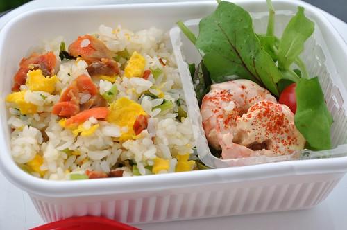 Salmon Chahan Bento -1