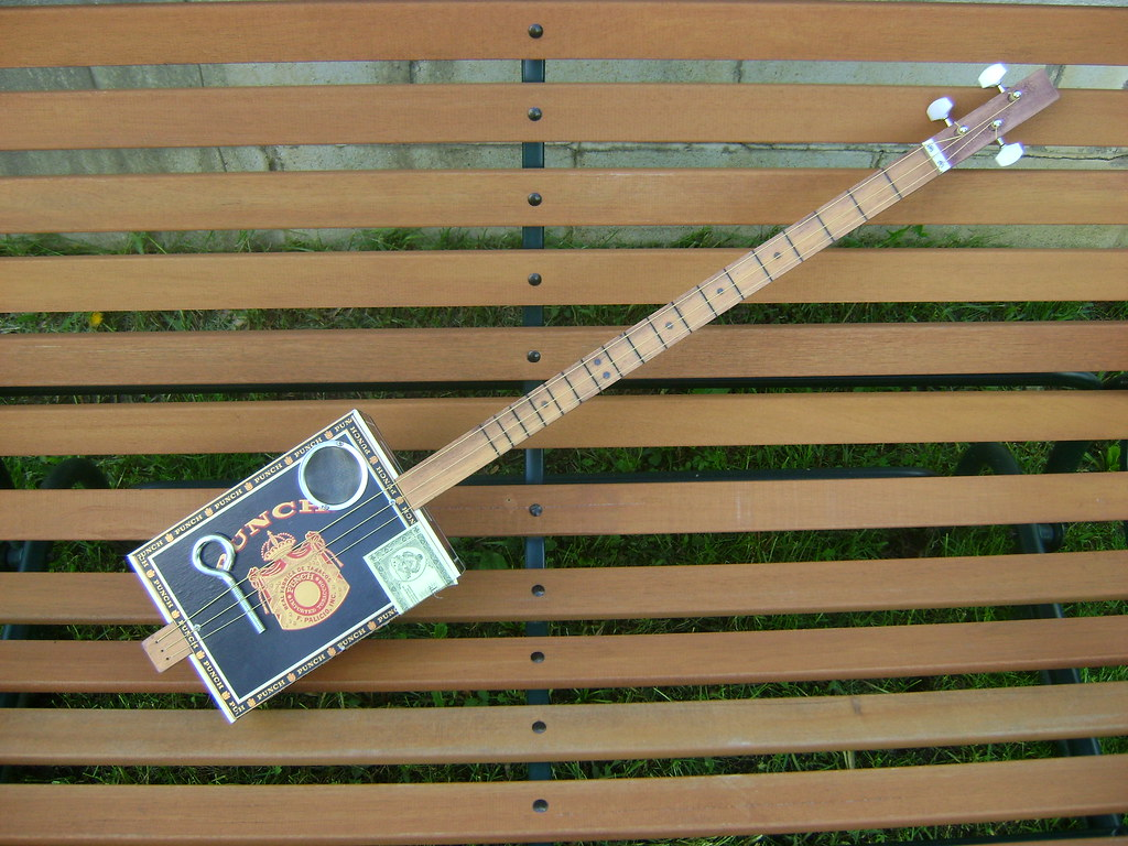 3 String Slide Cigar Box Guitar