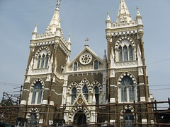 Mount Mary Church - Bandra - Mumbai (jeevan_balwant) Tags: india tourism photography ancient religion landmarks holy amateur prayers bandramumbai photogenic greatplaces marvels mountmary amateurphotographer amateurphotography touristdestinations touristplaces maharashtratourism greatstructures touristdestinationsinindia touristdestinationsinasia