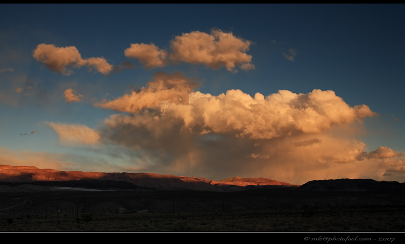 us395 easternsierra cloud sunset california photofool
