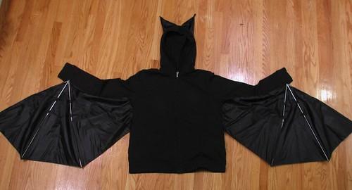 Bat Costume: Now, anatomically correct!