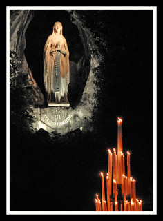 The Grotto at Lourdes