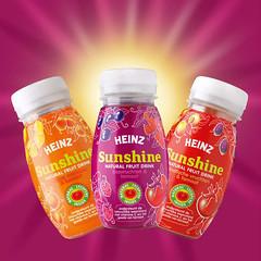 Heinz Sunshine: koelverse fruitdrank met het goede van fruit en tomaat