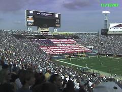 Jags v. San Diego halftime show