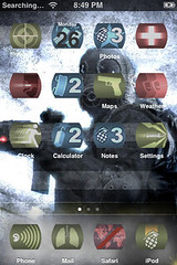 Call of iPhone supplied by akai, Infinity Ward