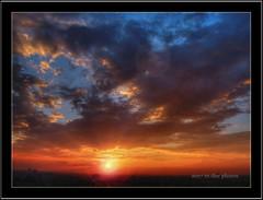 Going Down (m dee88) Tags: pink blue light sunset orange sun black yellow set clouds glare philippines manila hdr 2007 goingdown goldmedalwinner perfectsunsetssunrisesandskys goldstaraward mdeephotos