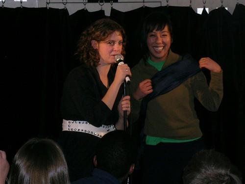 Adira Amram and Becky Yamamoto