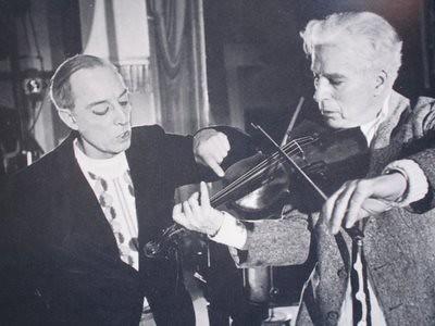 Chaplin y Keaton