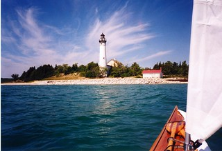 Kayaking to South Manitou Island