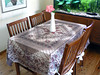 Tablecloth from India