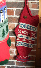 stockings are hung (looseends) Tags: christmas lighthouse fish tree wool stockings knitting handknit stocking stranded intarsia