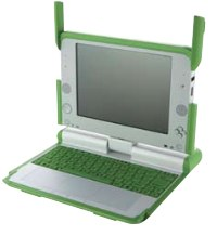 One Laptop per Child (OLPC), getting started: opening the laptop