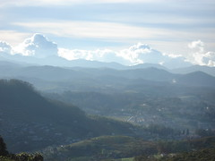 view from doddabetta peak, ooty, the nilgiri