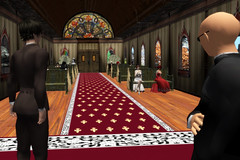 Waiting at the altar (Tragix Wilder) Tags: wedding 3d secondlife