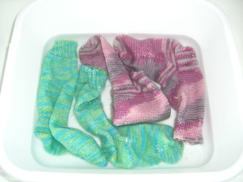 Soaking Socks