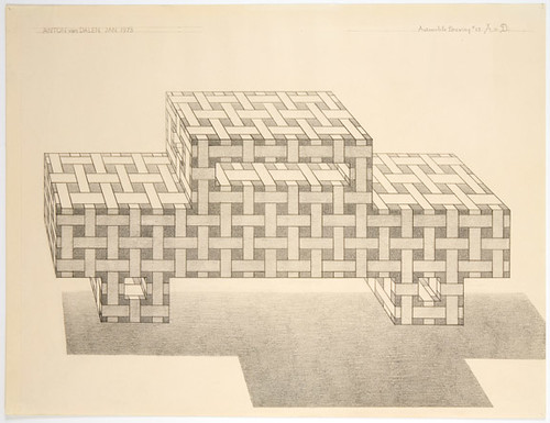 Anton van Dalen Automobile Drawing No.23  1973