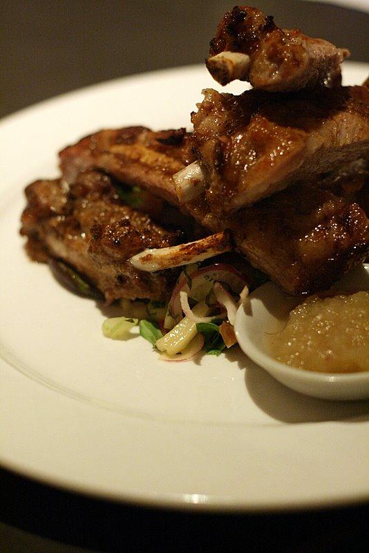 Iberico BBQ pork spare ribs