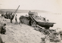War (profkaren) Tags: tank pacific wwii soldiers worldwar iwojima amphibious lvta4 landingvehicletracked
