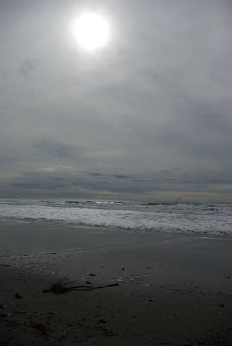 Sun over Beach
