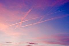 abendrot / sunset (mp.ch) Tags: winter sunset sky clouds schweiz switzerland dusk himmel wolken nikond70s be bern berne vapourtrail abendrot kondensstreifen abendstimmung 25views eymatt