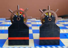 Black Bishops (House of Fur and Fir) Tags: lego pirates chess imperial soldiers vs