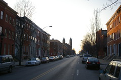 Row Houses, National Road, Baltimore