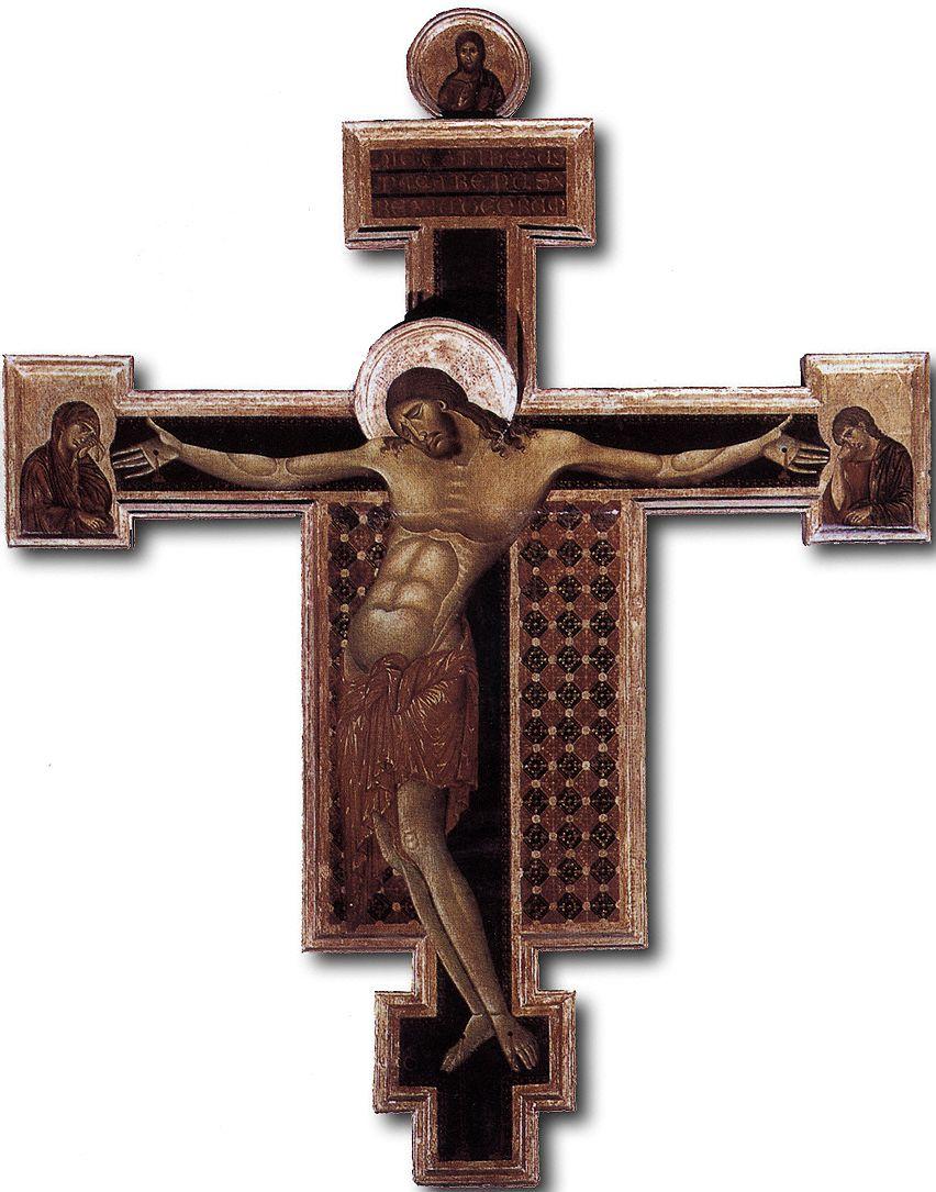 CIMABUE Crucifix, 1268-71