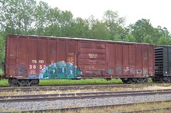 TSRD 3652 (trainman308) Tags: railroad train vermont tank railway trains boxcar hopper freight tanker railroads oilcar